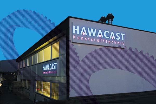 hawacast kunststofftechnik Gebäude Biberach Produktionhalle Hawamid PA 12G
