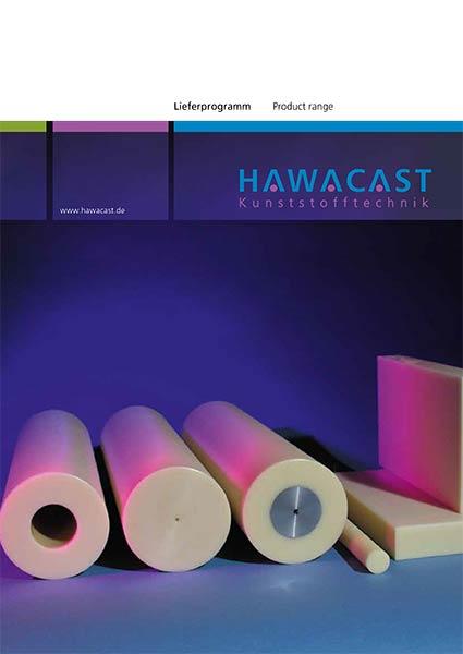 hawacast kunststofftechnik lieferprogramm broschüre Hawamid PA 12G